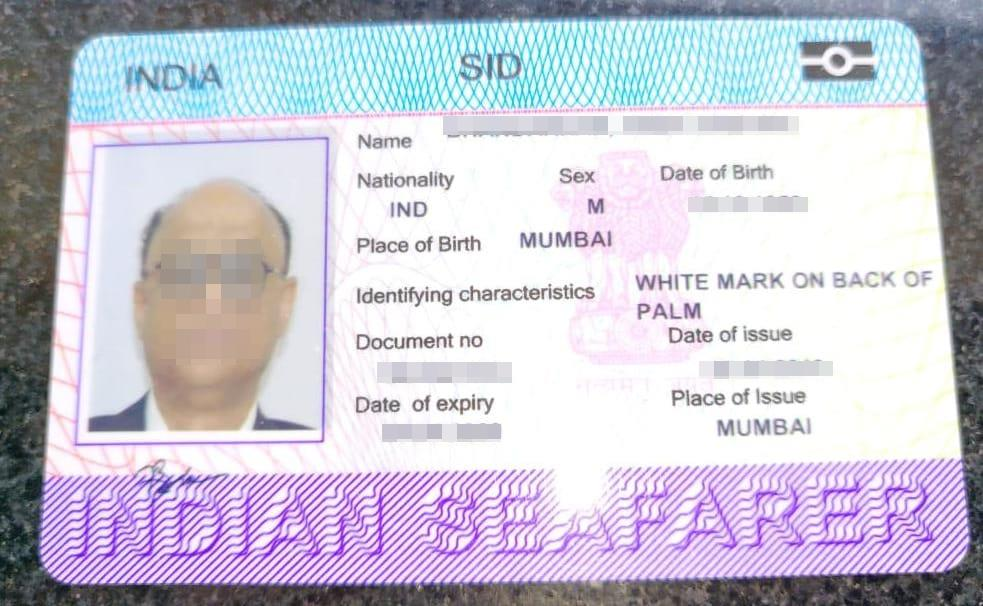 Seafarer Identity Document SID